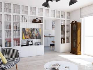 Twój Kwadrat Ausgefallene Wohnzimmer Weiß