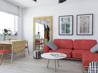 Twój Kwadrat Ausgefallene Wohnzimmer Rot