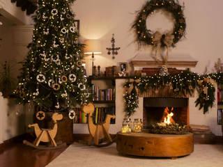 Adornando la sala para Navidad. Tiempo de Navidad de MARIANGEL COGHLAN