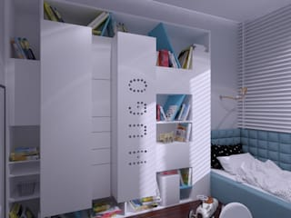 Modern Kid's Room by The Vibe Modern