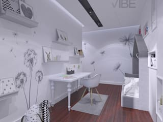 The Vibe Modern nursery/kids room Grey