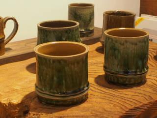 Bamboo Motif series  Cups, etc.: 愚陶庵が手掛けた折衷的なです。,オリジナル