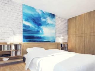 Design inetrior: Спальни в . Автор – Архитектурная компания МАСТЕР