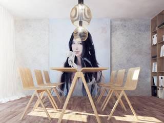 Design inetrior: Столовые комнаты в . Автор – Архитектурная компания МАСТЕР,