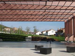 Modern Garden by asieracuriola arquitectos en San Sebastian Modern