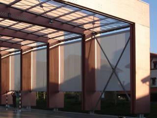Jardins modernos por asieracuriola arquitectos en San Sebastian Moderno