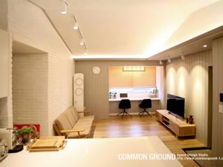 Dormitorios de estilo  de 커먼그라운드