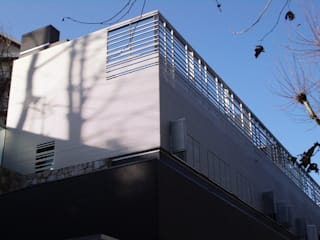 Casas modernas por asieracuriola arquitectos en San Sebastian Moderno
