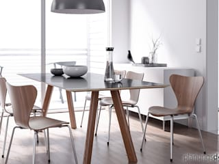 Scandinavian style dining room by planungsdetail.de GmbH Scandinavian