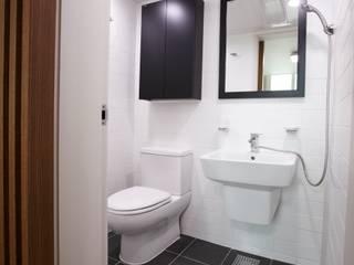 죽전 한양수자인아파트 리모델링 : DESIGNSTUDIO LIM_디자인스튜디오 림의  화장실