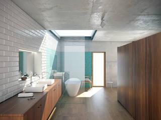 Render interior: Casas de banho  por archi3d