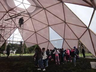 Nuestros domos:  de estilo  por GUADUATECH