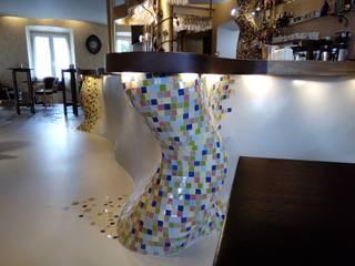 Patchwork Zellige tegels - Mosaic del Sur:  Muren door Mosaic del Sur België - Nederland