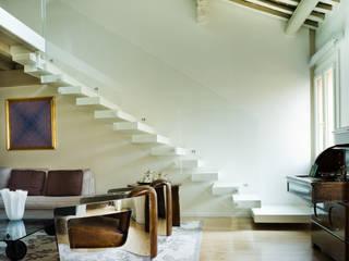 cristina mecatti interior design Salones de estilo moderno