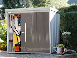 Modern Garage and Shed by Gartenhaus2000 GmbH Modern