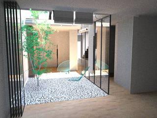 PSGN 11 Jardines de invierno de estilo minimalista de BONBA studio Minimalista