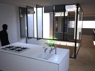 PSGN 11 Cocinas de estilo minimalista de BONBA studio Minimalista