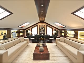 Mehmet Ulusoy Ofis Modern Çalışma Odası Kerim Çarmıklı İç Mimarlık Modern