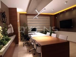 Aksoy Ofisi QZENS MOBİLYA Modern