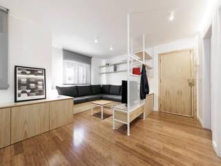 Modern living room by Nan Arquitectos Modern لکڑی Wood effect