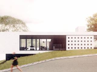 Residência Boa Vista: Casas  por Commune Arquitetura