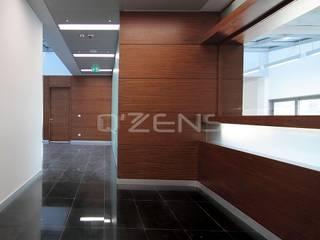 QZENS MOBİLYA – Merkez Bankası Bursa Hizmet Binası:  tarz Ofis Alanları,
