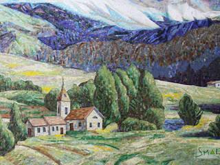 «Пастораль»:  в . Автор – Мастерская художественной мозаики 'SMALTO'