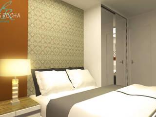Dormitorios de estilo  por Henrique Rocha Arquitetura , Moderno