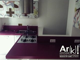 Tetris_House Cucina moderna di arkfattoriale Moderno