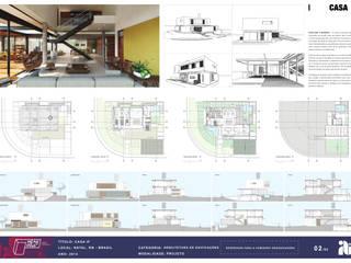 Casa IF - Pracha 02.02:   por Martins Lucena Arquitetos,