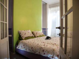 Casa Privata 2008 - Roma San Giovanni Camera da letto moderna di Mostarda Design Moderno
