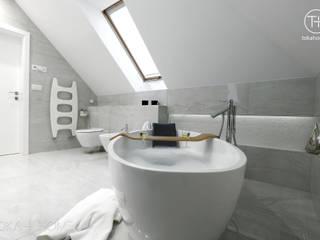 Strefa relaksu Nowoczesna łazienka od TOKA + HOME Nowoczesny