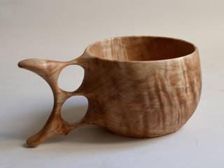 Wooden Mug (Japanese horse chestnut ) atelier dehors KitchenCutlery, crockery & glassware Wood Wood effect