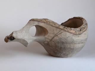 カキノキのカップ: atelier dehorsが手掛けた折衷的なです。,オリジナル