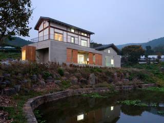 홍성주택 아시아스타일 주택 by 위무위 건축사사무소 한옥