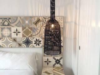Patchwork cementtegels 20x20cm - Mosaic del Sur:  Slaapkamer door Mosaic del Sur België - Nederland