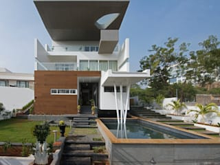 Cantilever House Modern houses by NA ARCHITECTS Modern