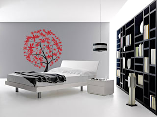 Decoración de Paredes:  de estilo  por Kunst Interior