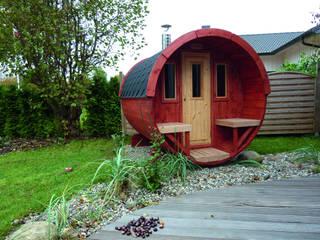 Spas de estilo escandinavo de Gartenhaus2000 GmbH Escandinavo