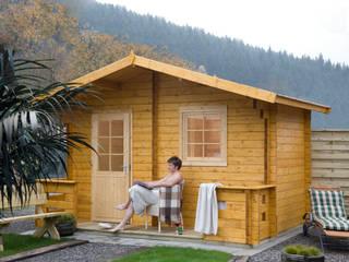 Scandinavian style spa by Gartenhaus2000 GmbH Scandinavian