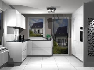 Kuechenunikat auf kleinem Raum: modern  von Schwarzwald Küchen Singen,Modern