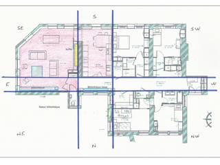 FENGSHUI d'un appartement en rénovation Murs & Sols modernes par Myriem de Poncins Moderne