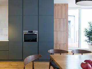 Комфорт Кухня в скандинавском стиле от Lugerin Architects Скандинавский