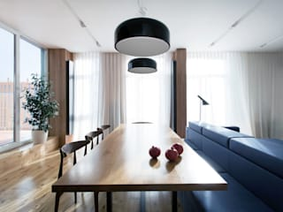 Lugerin Architects Scandinavian style dining room