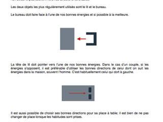 positionner son bureau ou son lit: Bureau de style  par Myriem de Poncins
