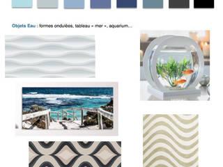 Choisir les couleurs qui nous conviennent Bureau moderne par Myriem de Poncins Moderne