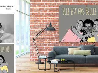 Fluxversion, un œil d'artiste pour faire de votre photo un tableau éclairé, un tableau, une affiche ou une bâche, unique et design par Fluxversion la photo déco Moderne