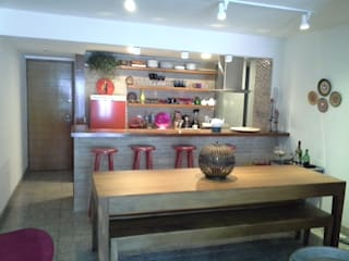Architelier Arquitetura e Urbanismo Cocinas de estilo rústico