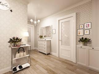 """""""Contemporary classic"""" Коридор, прихожая и лестница в классическом стиле от SKILL Классический"""
