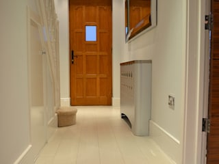 Ultra Modern hallway makeover in London by Laser cut Furniture & Screens